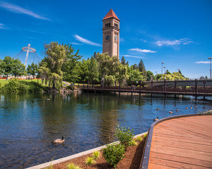 Riverfront Park in Spokane Washington