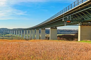 Ruhrtalbrücke über die Ruhr bei Essen