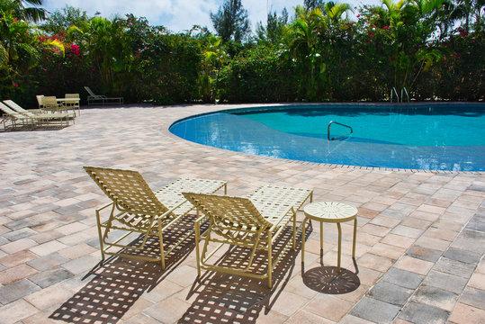 Zero Tourism and Travel - Luxury Resort Pool Area.