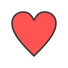 Vector Heart Icon