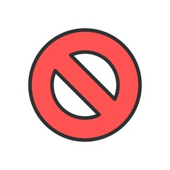 Vector Forbidden Icon
