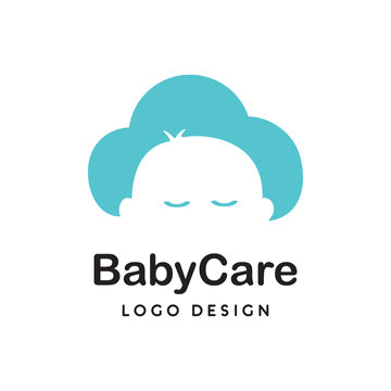 Baby Care logo icon vector template