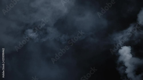 Spooky magic halloween  Atmospheric smoke VFX element  Haze
