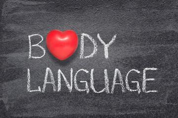 body language heart
