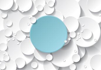 fond cercle bleu et blanc