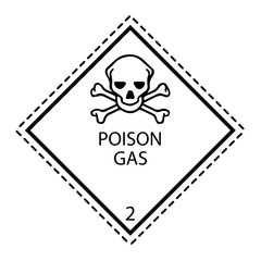 poison gas Sign