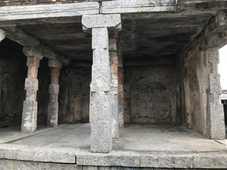 Room at Ruin of Gingee Fort in Tamil Nadu, Chennai