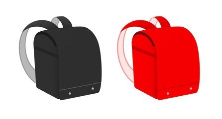 黒と赤のランドセル