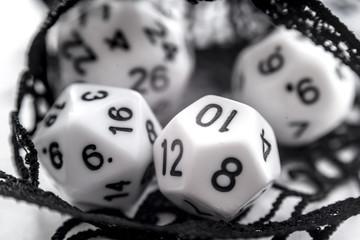 set of dice d6 d10 d20