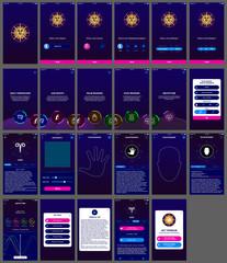 horoscope ui design app android