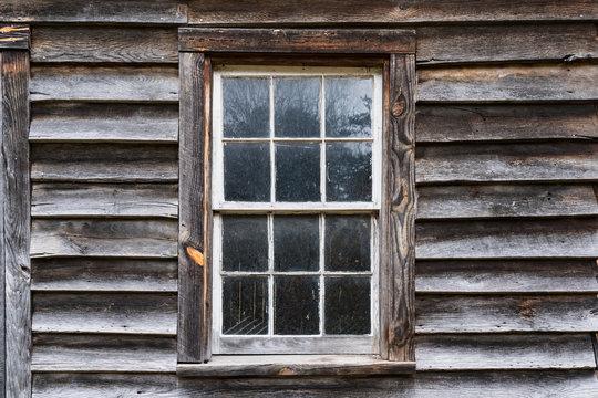 Old Rustic Exterior Window