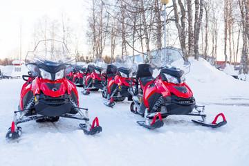 Schnee-Scooter