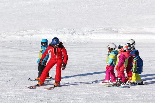 Cours de ski enfants-4327