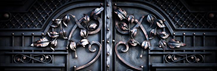 large metal gates