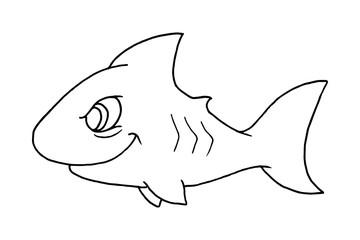 great shark smiling