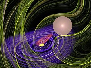 nice spiral and meditation fractal