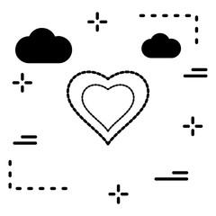 Vector Heart Love Icon