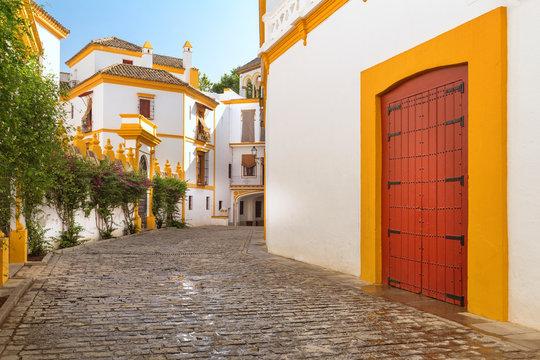 Seville, Spain - Architecture barrio Santa Cruz district