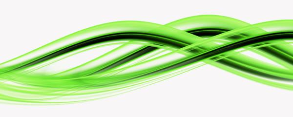 Abstract elegant eco wave panorama background design illustration