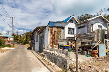 Saint Vincent and the Grenadines, Mayreau, abandoned house