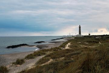 Skagen lighthouse in Denmark.