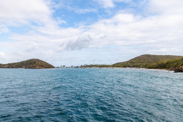 Saint Vincent and the Grenadines, Mayreau, Salt Whist bay bay