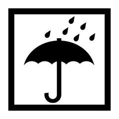 水濡れ防止マーク