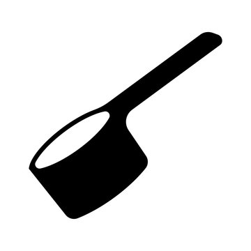 Scoop icon - vector