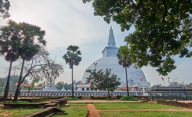 Ruwanwelisaya stupa in Anuradhapura - Sri Lanka