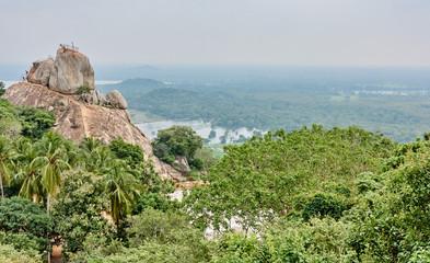 Buddhist pilgrimage site  in Mihintale - Sri Lanka..