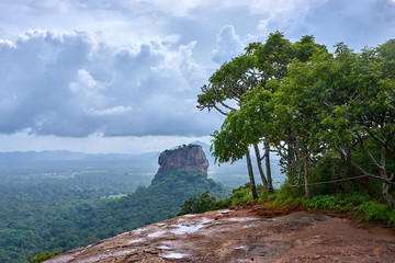Sigiriya also called Lion Rock (Sri Lanka)