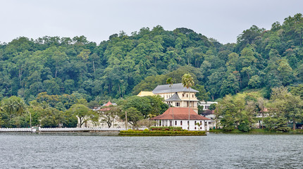 Lake side view from Candy - Sri Lanka