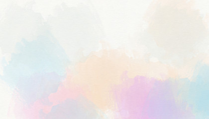 Pastel soft colorful watercolor background