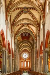 Basilica di S. Andrea, Vercelli, Italia