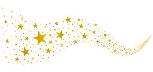 Golden Stars in the Stream