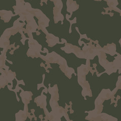 Field camouflage of various shades of green, brown and beige colors