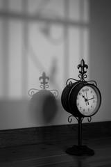 Time concept : A classic retro clock