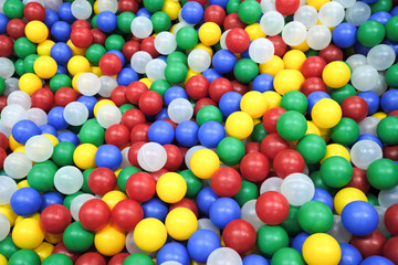 The color ball colorfull for children. for play and fun on kids playground