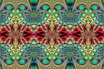 colourful abstract decorative pattern