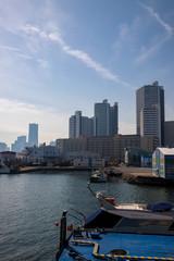 瑞穂埠頭から横浜港