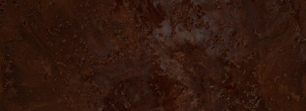 Chocolate ice cream texture.