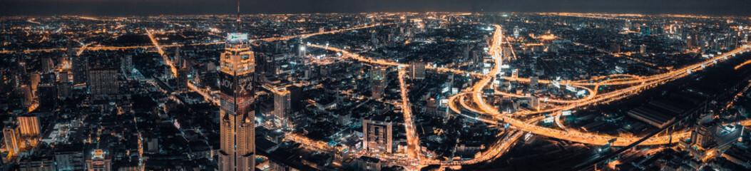Siam & Ratchathewi views in Bangkok, Thailand