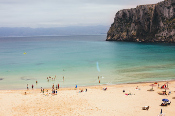paradisiacal beach
