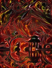Asian style abstract