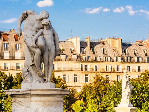 Antique Statue In Jardin Des Tuileries Paris France Tuileries