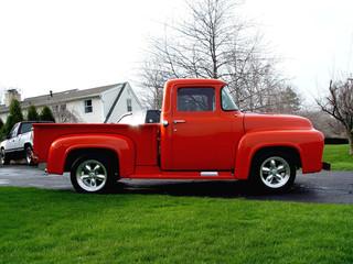 Little Orange Truck 1956 Ford