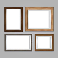 Frame collection vector illustration