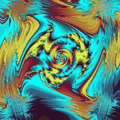 abstrakt metall bunt wirbel illustration