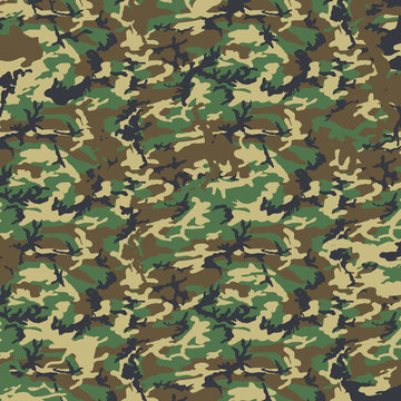 Woodland Camo Camouflage Military Army Marines Uniform