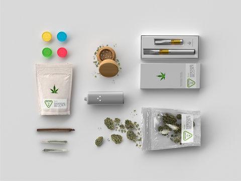 Marijuana Products - Medical Cannabis - White